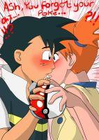 Card 06: Ash Misty: You dropped your Pokeball by mattwilson83