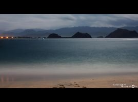 Night at Papuma Beach, IND by kiddiesm