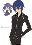 Ikuto and Yoru Render PNG by TalithaAnimeDaisuki