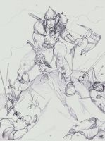 Conan The Slayer by warhammer2000