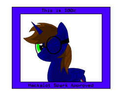 The official Hackalot Spark Seal of Approval by HackalotSpark
