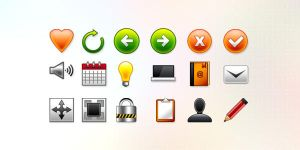 18 Vector Web Icons (PSD) by softarea