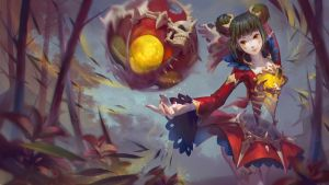 LOL Fans Art : Eastern Risen - Orianna by JouFang