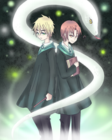 APH - The Slytherin by Mi-chan4649