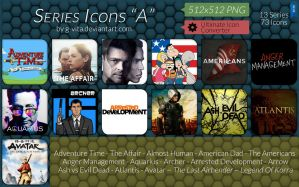 TV Series Icons A by g-Vita