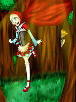 Little Red Riding Hood by Yu-chyan
