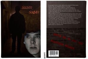 Johnlock Book Cover by DanglingThpider