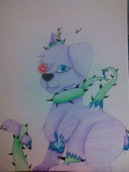Tinsel Likes Gardening (candy gore) by A-wolf-called-smokey