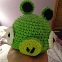 Angry Birds Pig - for sale on Etsy by theyarnbunny