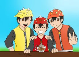 Boboiboy by TcRed