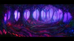 Falorn Forest by sancient