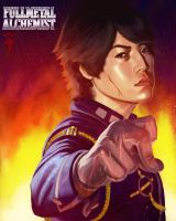 Roy Mustang by ImmarArt
