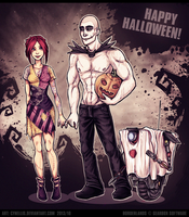 Happy BL2 Halloween! by cynellis