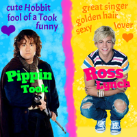 Pippin and Ross *love* by ponyhallo1