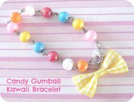 Candy Gumball Bracelet by SabrinaDeeBerry