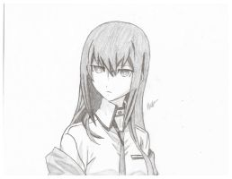 Kurisu Makise/ Christina the Assistant by Okabe001
