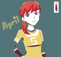 April by VanillaSkyWolf