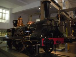 Columbine the Steam Engine by rlkitterman