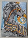 Kisindian ACEO trade by nightspiritwing