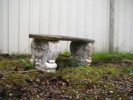 Object Stock - Stone Chair 01. by stock-basicality