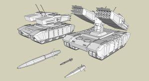Hoplite - Multipurpose Missile Launcher - WIP by Lock-Mar