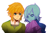 skyward sword -- gossip by onisuu