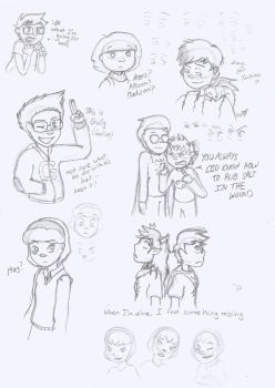 Another sketch dump by MislamicPearl