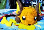 Sergeant the Raichu (Front) by ArtisansShadow