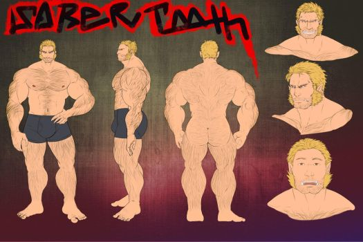Sabertooth Reference Sheet [COM] by Alanwakeup