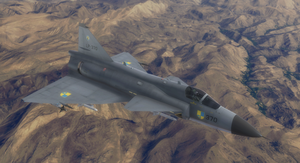Viggen - Sapin Air Force by Jetfreak-7