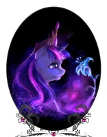 Twilight Sparkle: New Princess by ElkaArt