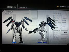 Freedom Gundam: AC4FA by Blood-Asp0123