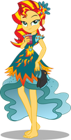 Sunset Shimmer - LoE (now with 100% more shoes!) by seahawk270