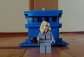 Custom Made Rose Tyler Lego by PCamenzind