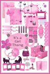 It''s a girl Thang Free Photoshop Brushes + PSD's by ibjennyjenny
