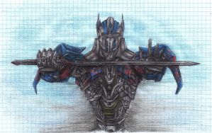 TF AOE Optimus Prime by FallenPrime