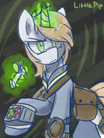 Little Pip-Fallout Equestria by TheDracoJayProduct