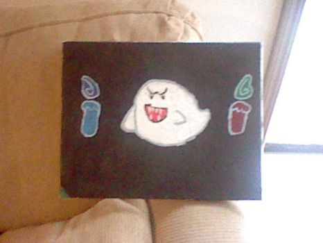 Boo painting by Xeronerozero