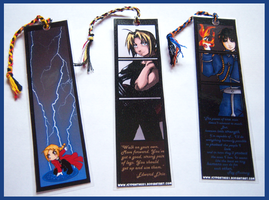 Fullmetal Alchemist Bookmarks by IcyPanther1