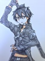Kirito: The Black Swordsman - Sword Art Online by LaniKiryu666