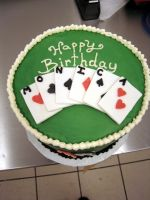 poker cake by greensprout