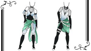Custom Outfits for Inconcabille by HardyDytonia