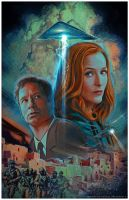 X-Files Annual 2016 by Valzonline