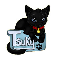 Tsuky Badge by Cristaleyes
