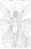 All New Soulfire #8 Cover A Pencils by vmarion07