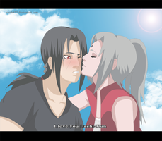 Itachi and Nayumi Declaration of love by Sarah927