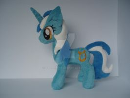 My little pony Friendship is magic Lyra plush by valio99999