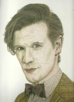 Dr. Who Eleven by donna-j