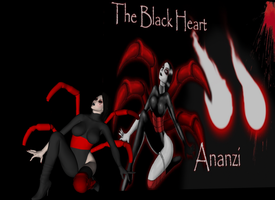 Ananzi - The Black Heart by PixelPinUps