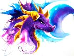 Throwback Dragons: Spyro by Lucky978